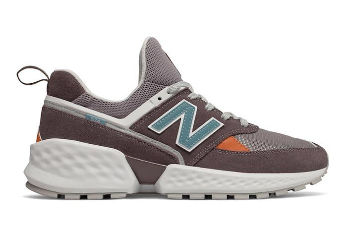 New Balance 574 Sv2 Brown Right Side Shot
