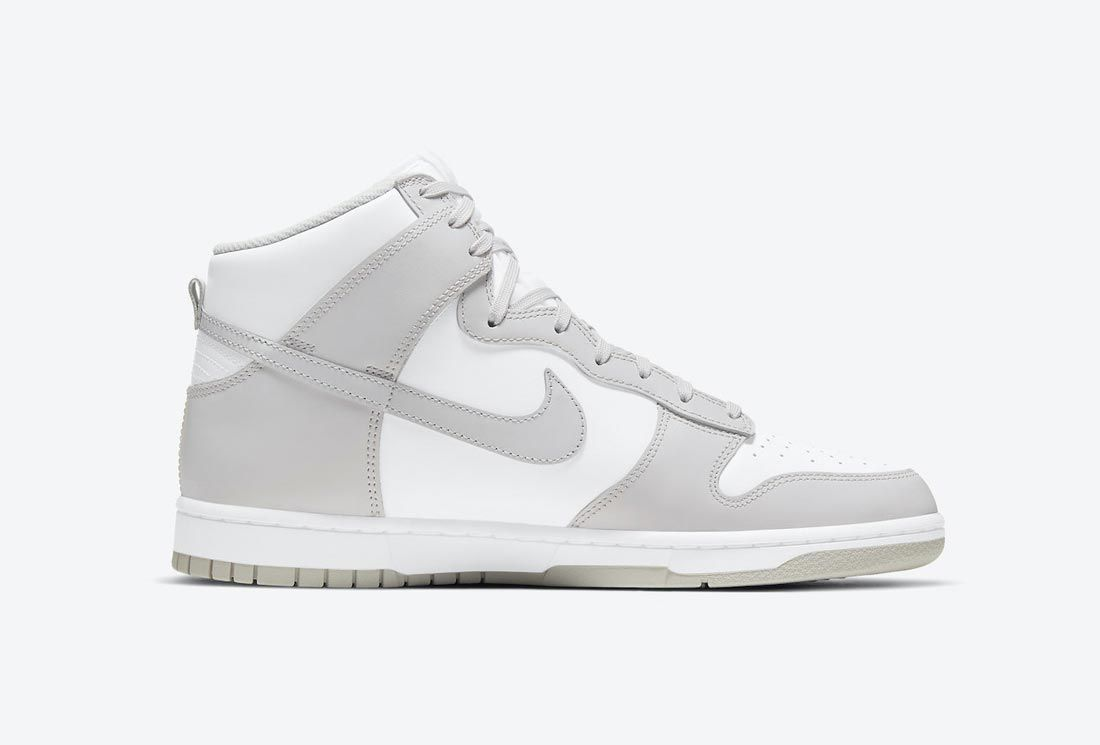 Nike Dunk High 'Vast Grey'