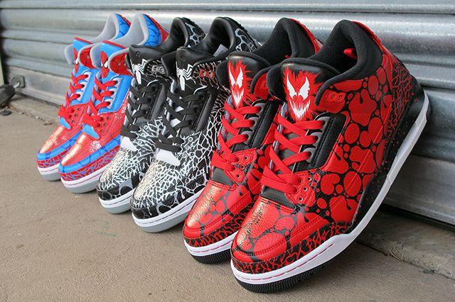 Sekure D Air Jordan 3 Symbiote Pack