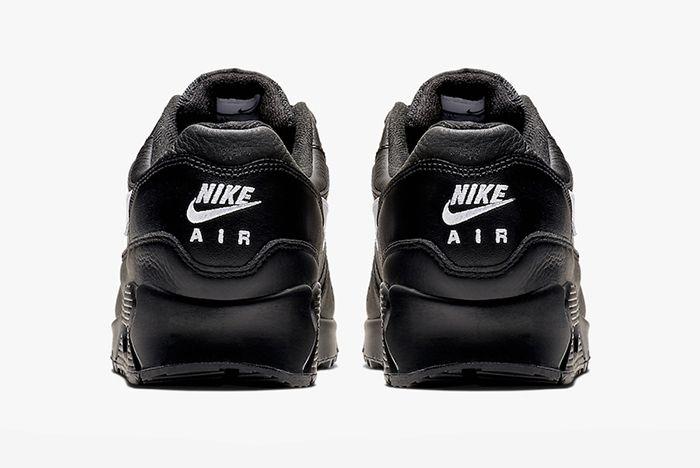 Nike Air Max 90 1 Black Leather 3