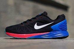 Nike Lunarglide 6 Hyper Punch Hyper Cobalt Thumb