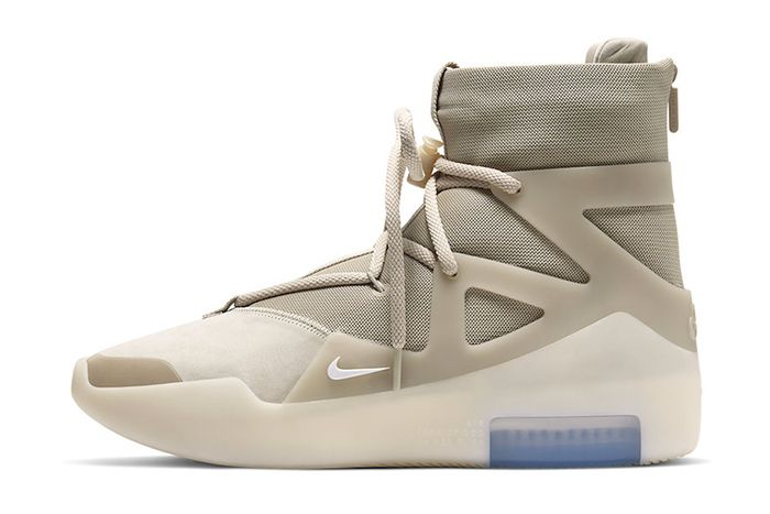 Nike Air Fear Of God 1 Oatmeal Ar4237 900 Release Date Lateral