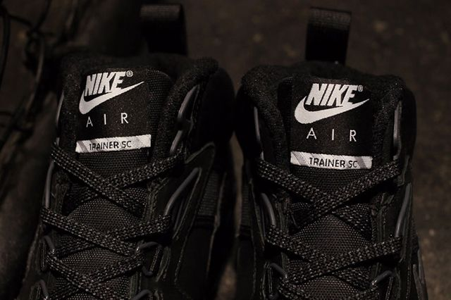 Nike Trainer Triple Black 1