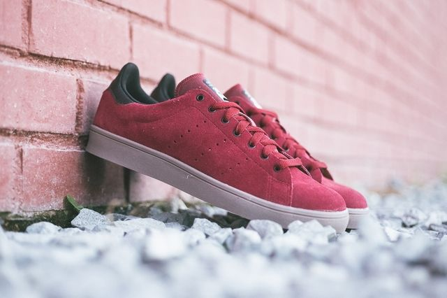 Adidas Stan Smith Vulcanised Burgundy Bumperoo 1