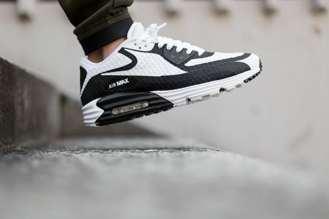 Nike Air Max 90 Lunar Br Black White Bumper 2