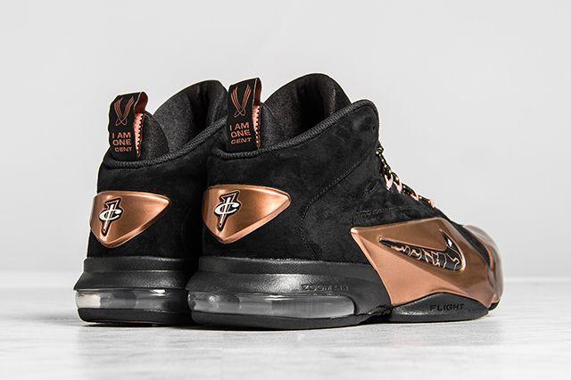 Nike Zoom Penny 6 Premium Black Metallic Copper 3