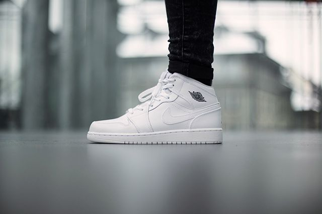 Air Jordan 1 Bg White Cool Grey 2