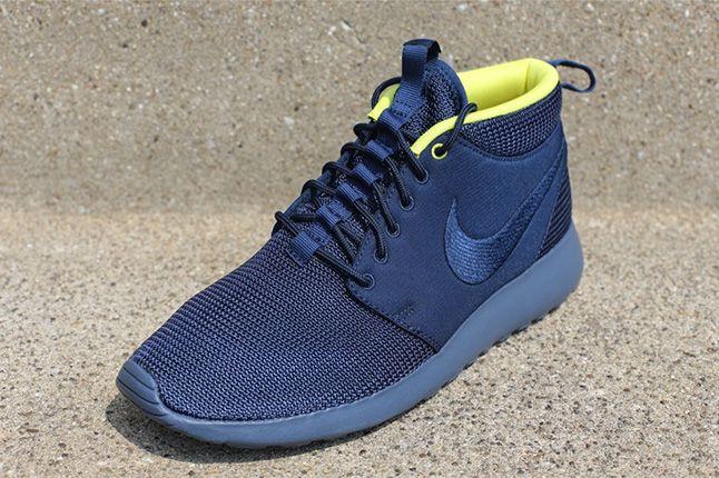 Nike Roshe Run Mid Summer Pack Sonic Yellow 1