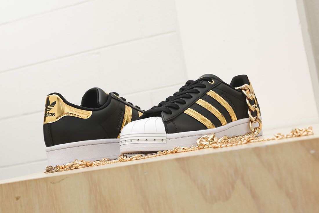 Adidas Metallic Gold Pack Superstar 50Th Anniversary Jd Sports Exclusive Hero4