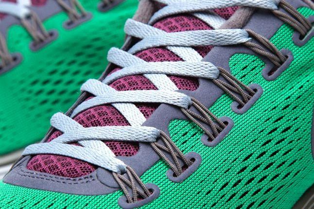 Nike Gyakusou Lunarglide 4 Pack Victory Green Lace Details 1