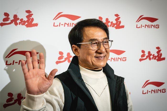 Li Ning Jackie Chan