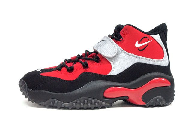 Nike Air Zoom Turf Red Sideview