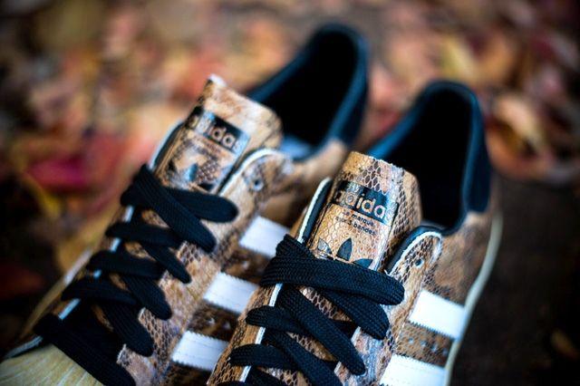 Adidas Superstar 80S Woodland Camo 1