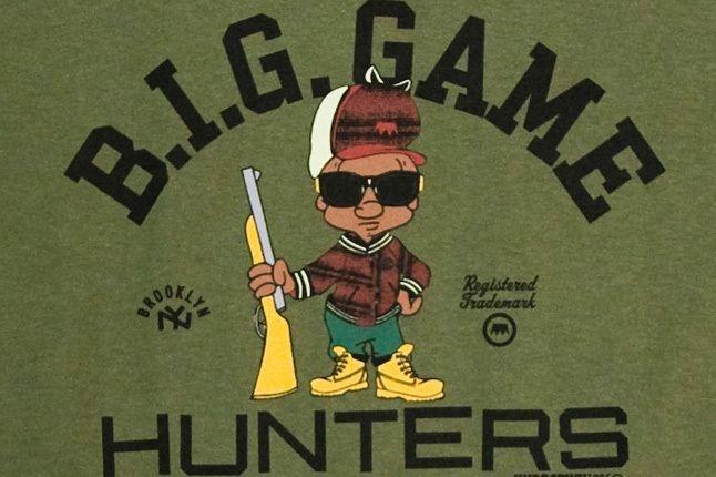 B I G Game Hunter Tee Army Det 1