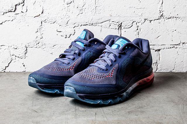 Nike Air Max 2014 Blue Recall Light Crimson 5