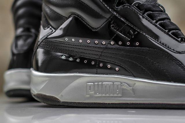 Meek Mill X Puma Challenge Black Silver 4