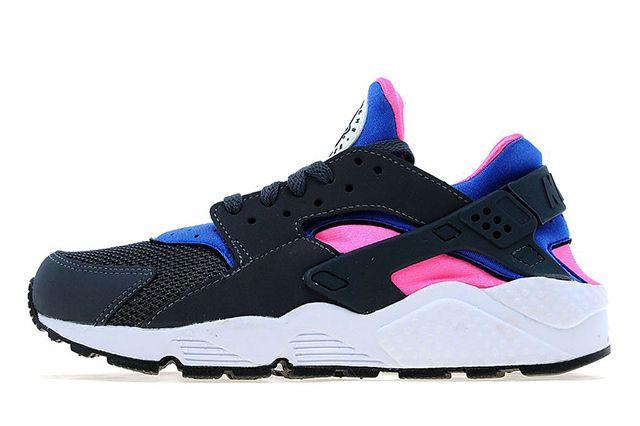 Nike Air Huarache Cobalt Magenta