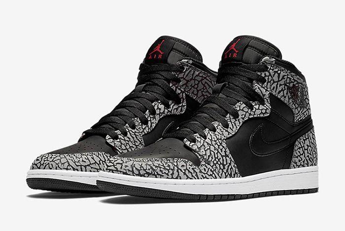 Air Jordan 1 High Black Cement