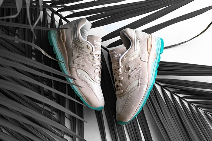 New Balance 997 Beige Teal M997Rsa Release Date Pair
