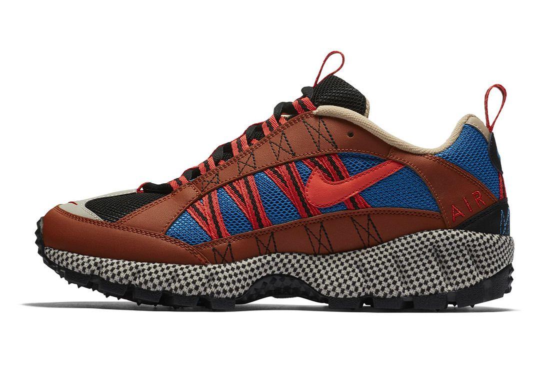 Nike Air Humara Red Blue Brown 10