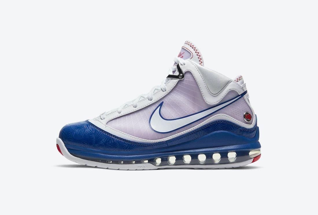 Nike LeBron 7 'Rush Blue'