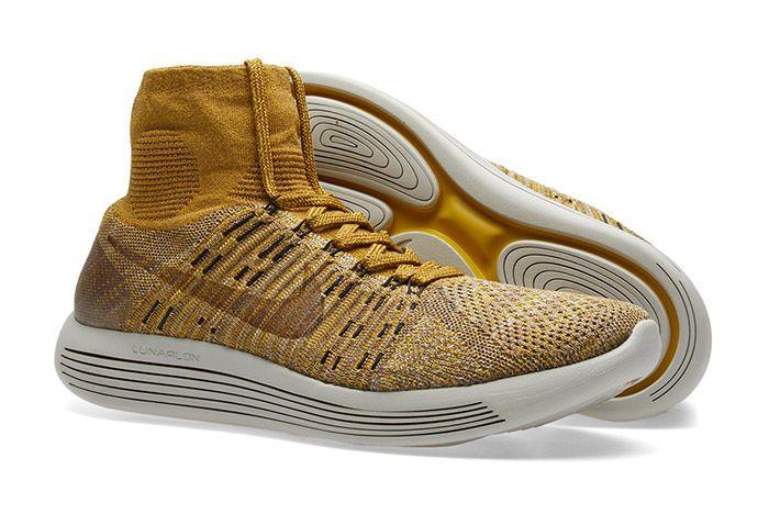 Nikelab Lunarepic Flyknit Golden Beige Brown 1
