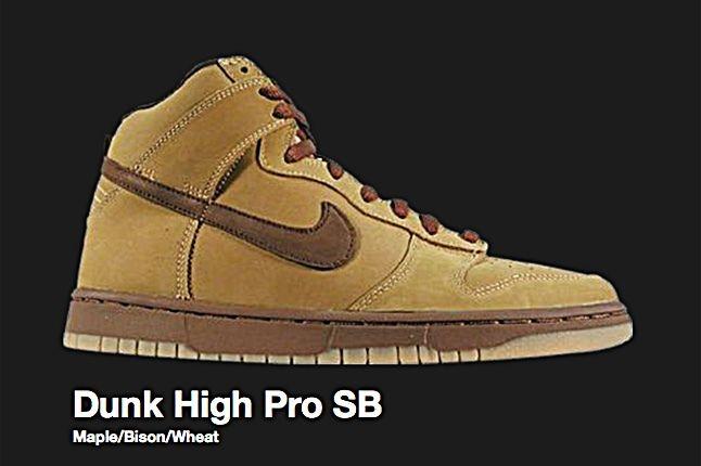 Nike Dunk High Pro Sb Maple 2002 1