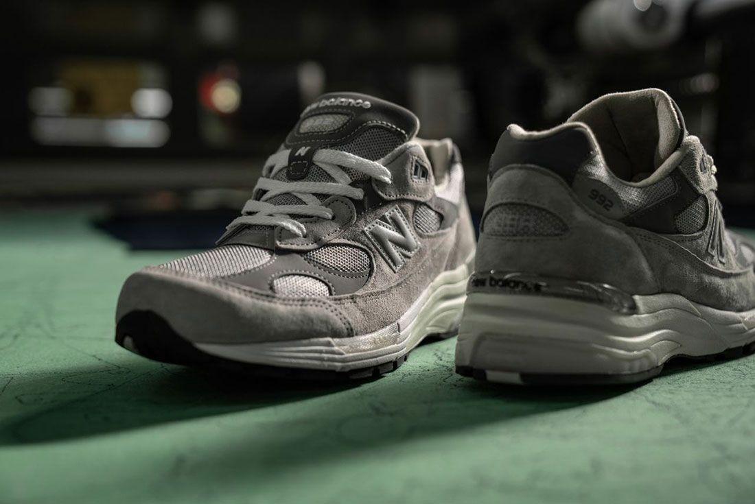 New Balance 992 Grey Hype Dc Factory
