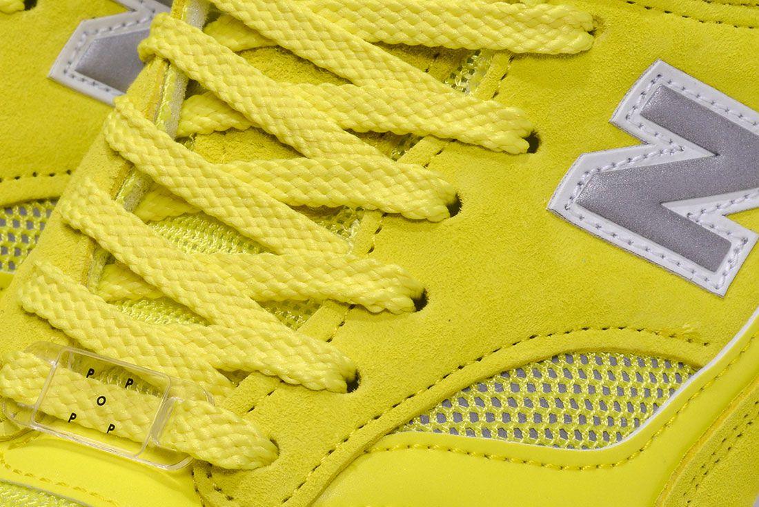 Pop New Balance 1500 Electric Yellow Pair Detail