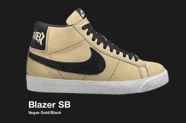 Nike Sb Blazer Thrasher 2007 1
