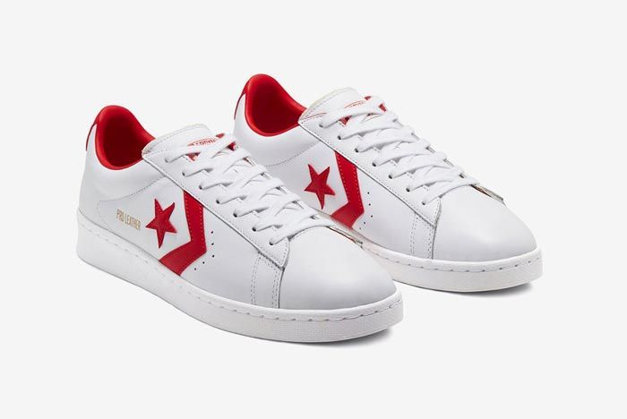 Converse Pro Leather Ox Red Pair