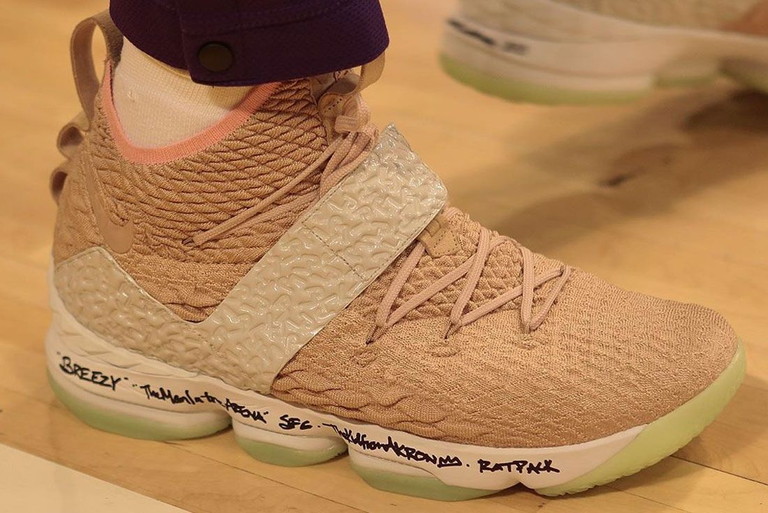 Nike Lebron 15 Air Yeezy Right