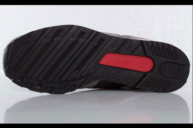 New Balance 1500 Black Red White Pair Outsole 1