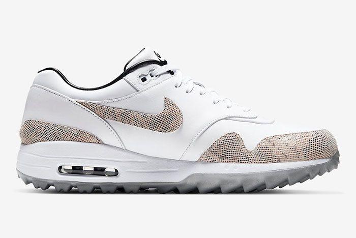 Nike Air Max 1 Golf Nrg Snakeskin Ci6876 101 Release Date 2Side