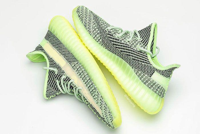 Adidas Yeezy Boost 350 V2 Yeezreel Reflective Glow Release Date 5 Pair
