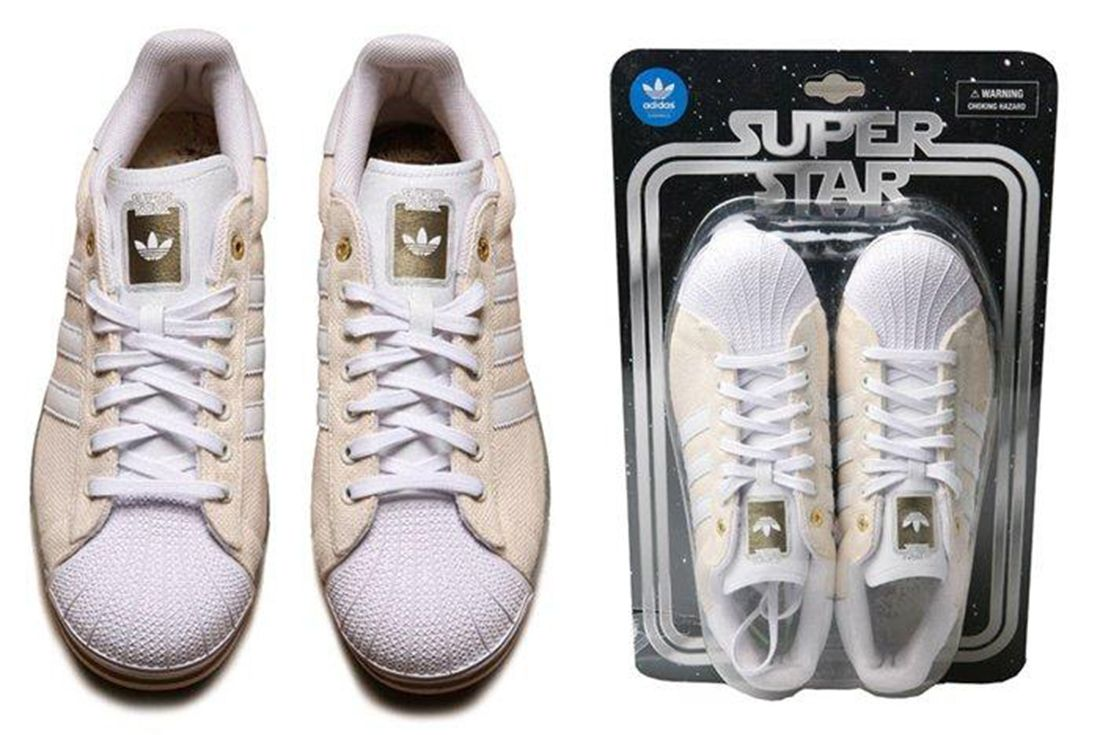 Adidas Superstar Yoda White Blister Pack