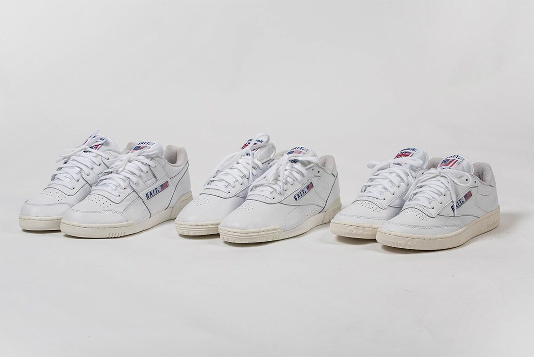 Bait X Reebok Classic West East Pack Workout Club C Ex O Fit 1