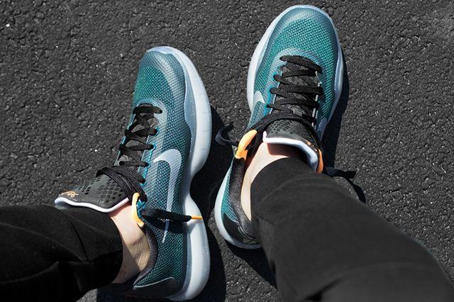 Nike Kobe 10 Flight Teal Orange 2