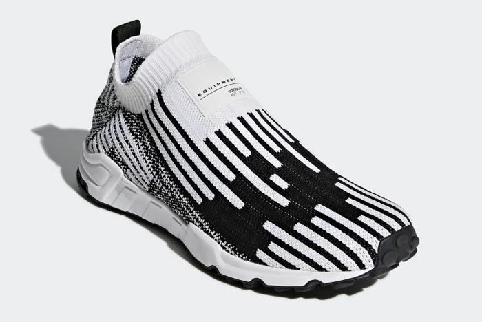 Adidas Eqt Support Sock Primeknit White 1