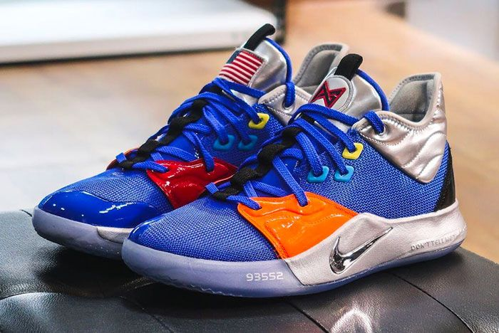 Nike Pg 3 Nasa Toe