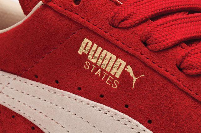 Puma States Red Closeup Bump