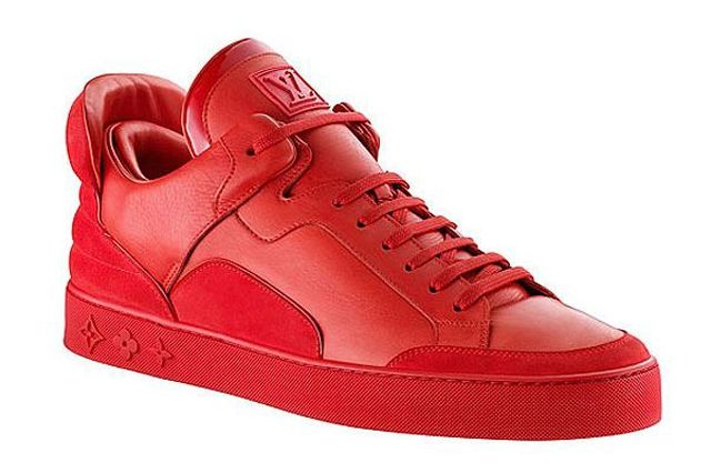 Kanye West Sneaker Style Louis Vuitton Don Red
