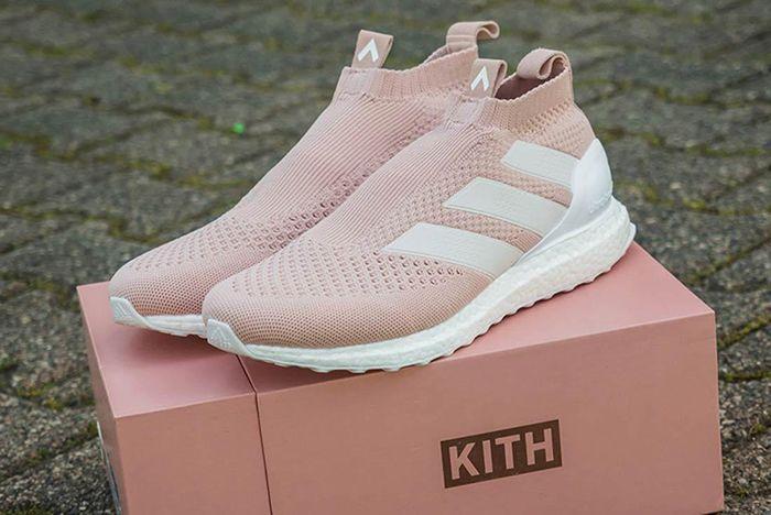 Kith X Adidas Ace 16 Ultraboost Vapor Pink 1
