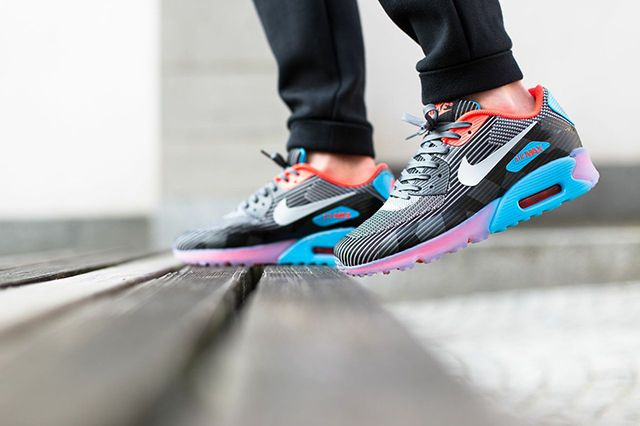 Nike Air Max 90 Jacquard Ice Blue Legend 3