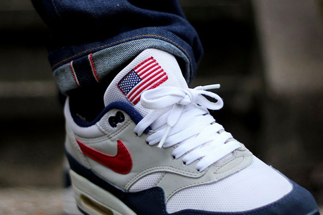 Air Max 1 Usa Ymor80 On Foot Shot