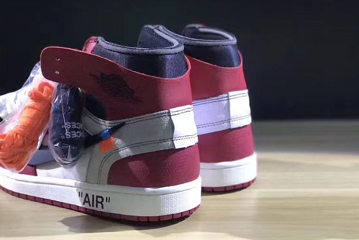 Off White X Air Jordan 1 Collaboration Surfaces6