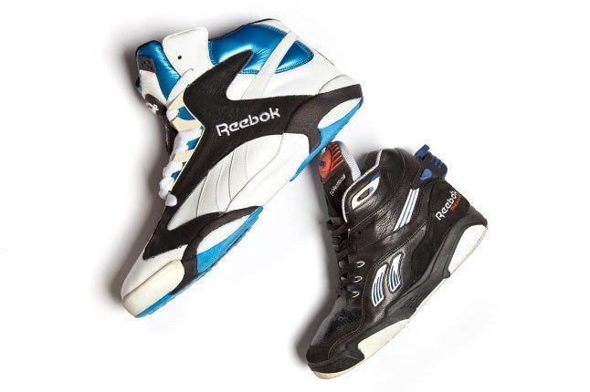 Shaq Reebok Shoe Size 20 Pair 1