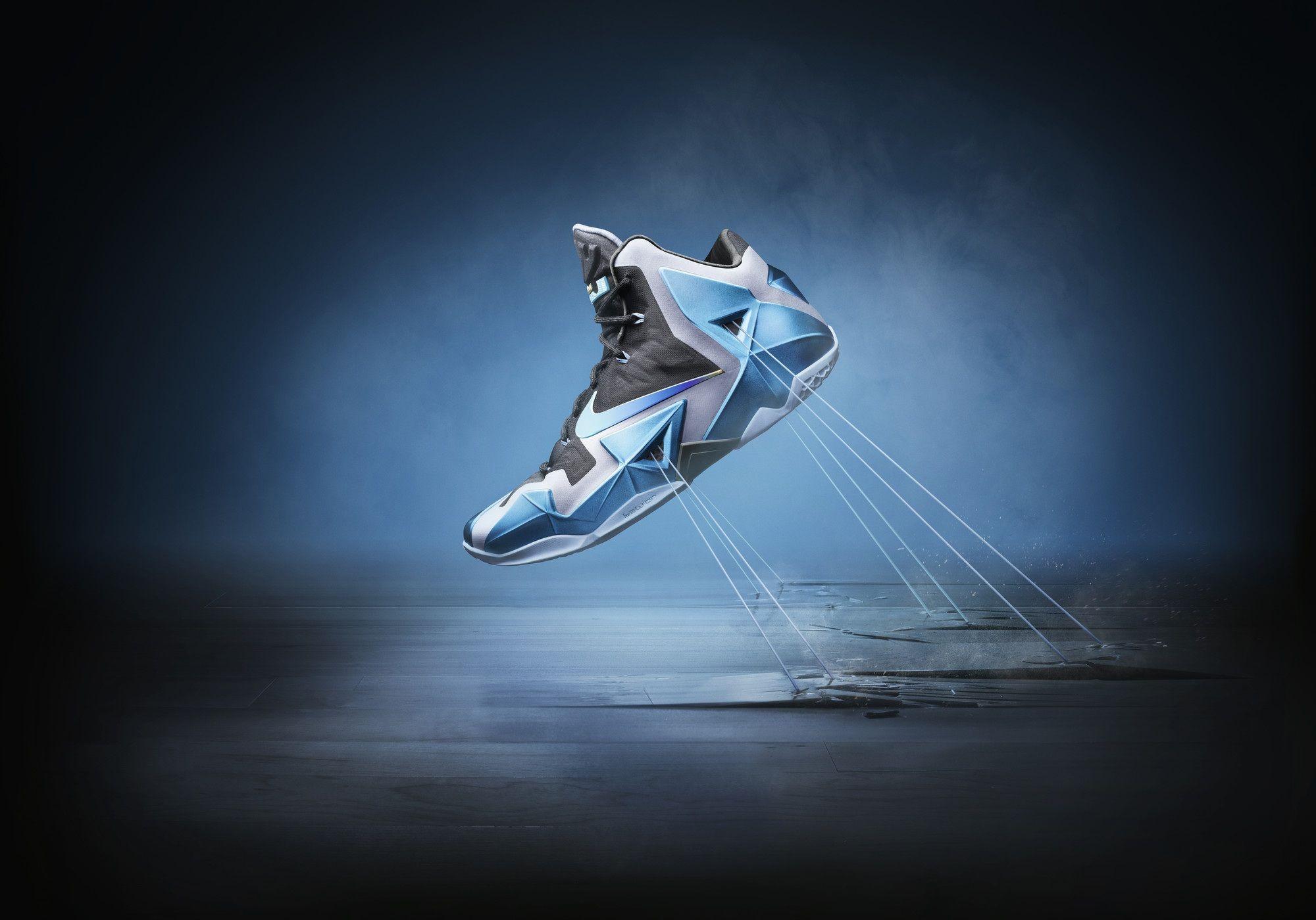 Nike Le Bron 11 Gamma Blue 7
