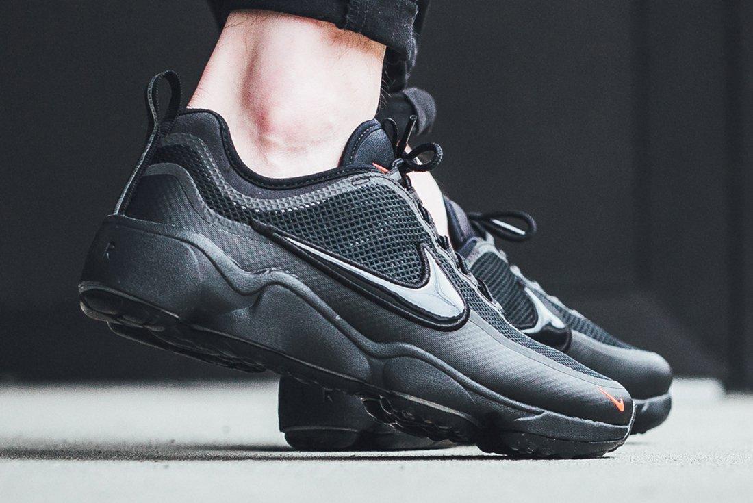 Nike Air Zoom Spiridon Blackred 2