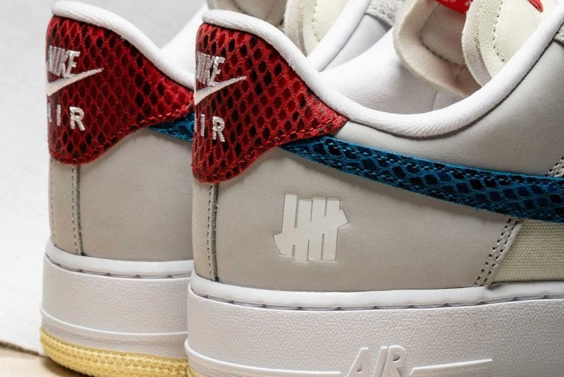 undefeated nike dunk af-1 pack 5 on it